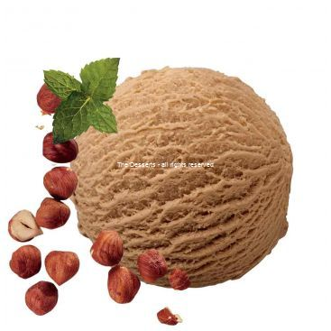 PALINE ICE CREAM WITH HAZELNUTS